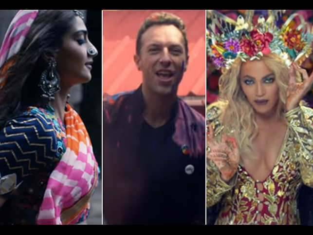 """""""Hymn for the Weekend"""" has been slammed on social media for cultural appropriation. (Image: Coldplay/YouTube)"""