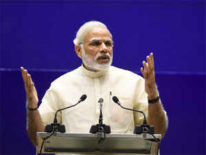Prime Minister Narendra Modi today said the government wants to create a network of Khadi Gramudyog across villages in the country.