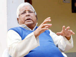 The opposition BJP today took strong exception to invitation extended to RJD President Lalu Prasad in a government function for start of work on a bridge over river Ganga tomorrow.