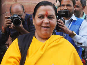 The Centre will implement a four-pronged programme in which as many as 1,600 villages along the Ganga stretch will be made filth free by October, Union Minister Uma Bharti said today.
