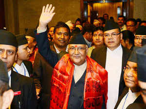 """Nepal's Prime Minister K P Sharma Oli may head to China ahead of India if the trade """"blockade"""" is not lifted, a top official of the ruling CPN-UML party said today, making the normalisation of situation at the Indo-Nepal border a pre-condition for the premier's maiden trip to Delhi."""