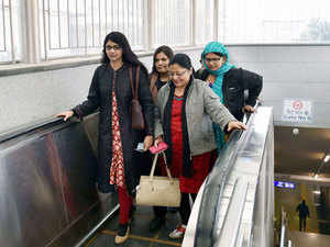 """A civil society organisation today raised concern over """"safety gaps"""" in the Delhi metro and made a presentation to Union Home Minister Rajnath Singh detailing the """"lacunae""""."""