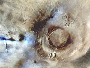 Pictures of Mars by ISRO