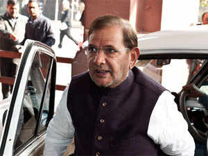 """Sharad Yadav said doors were open for the formation of a grand alliance in the state for which """"talks are on but nothing concrete has come up till now""""."""