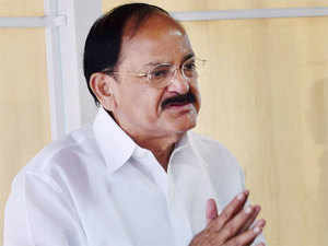 "Naidu said that by not allowing Parliament to function, the Congress was not stopping the Modi government but ""creating hurdles"" in the country's development."