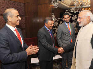 The PM and five ministers of the Union Cabinet spoke at the Airtel-Economic Times Global Business Summit, each about his own particular charge.