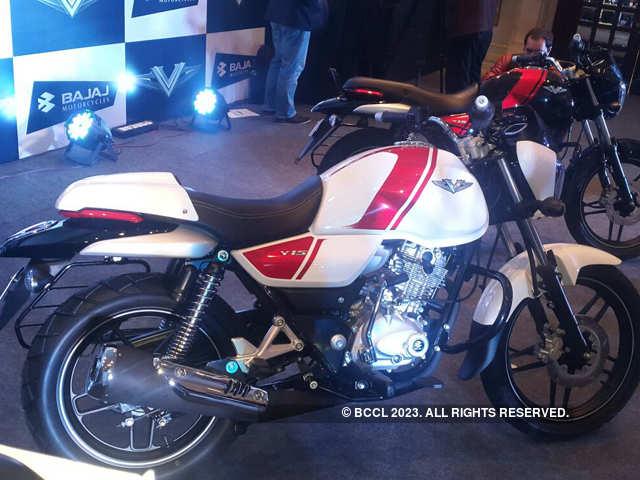 Bajaj Auto S New Bike V Makes Use Of Ins Vikrant Metal Bajaj