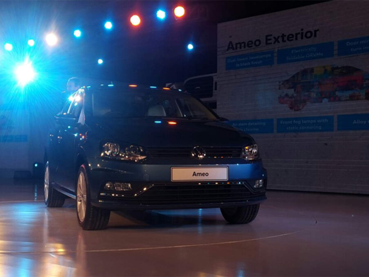 Volkswagen unveils its made-for-India sedan Ameo