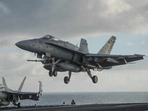 Boeing has offered to manufacture its F/A-18 fighter jets, the mainstay of the US navy, in India through the govt's Make in India programme.