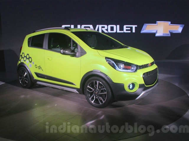 Motorbike-inspired instrument cluster - GM India unveils Chevrolet