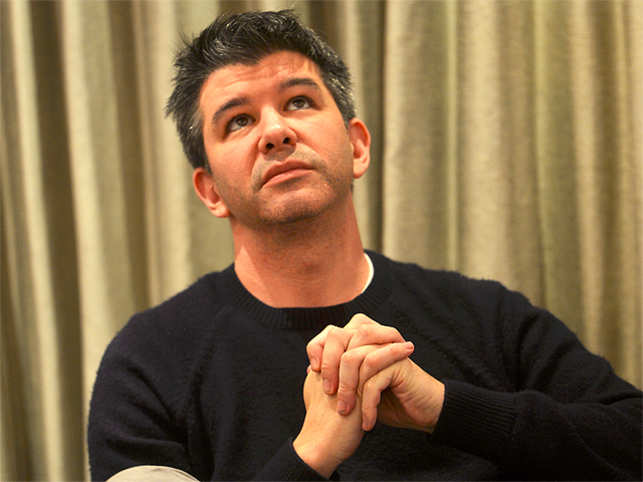 missing uber founder travis kalanick from the social network