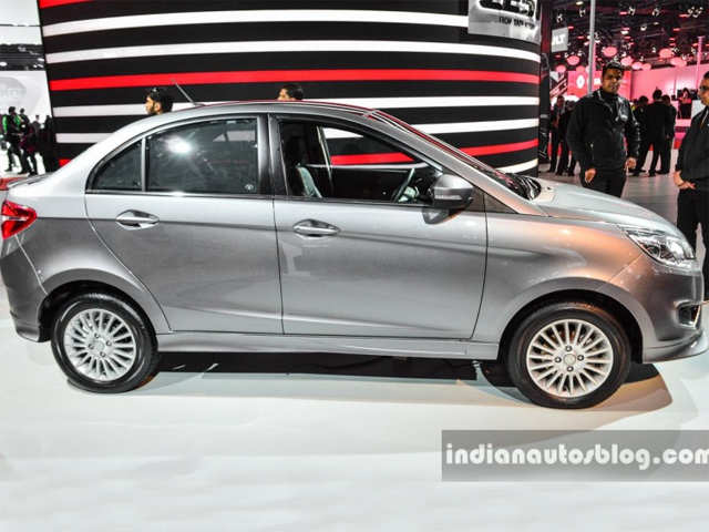 Sports body kit - Tata Motors showcases custom Tata Zest at Auto