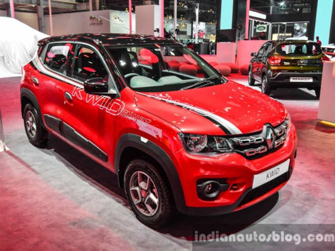 Renault Displays Specially Accessorised Kwid To Showcase