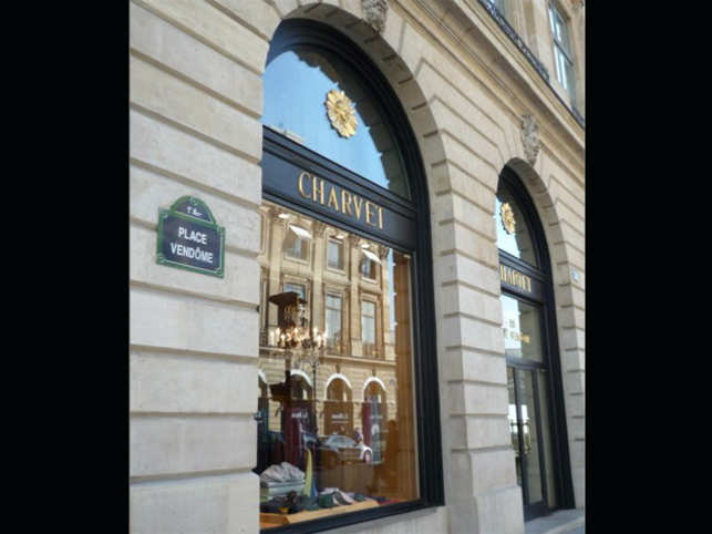 Charvet, headquartered on Place Vendome in Paris, and whose cheapest shirts cost about Rs 25,000, are an indulgence. (Image: Facebook)