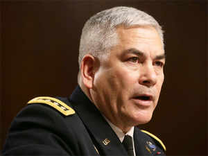 General John Campbell, Commander of United States Forces-Afghanistan.