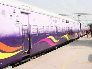 To avail the service, a passenger of a running train would have to SMS CLEAN{space}10 digit PNR no to 58888 or enter the PNR no at www.cleanmycoach.com.
