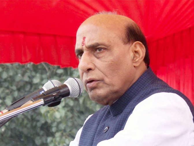 Rajnath singh reviews coastal security in daman and diu for Coastal burglar alarm