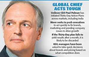Unilever CEO tells HUL to go for growth
