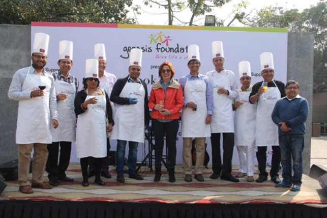 On a sunny Saturday, CEOs took a break from their busy boardroom schedule  as they cooked up an exotic meal for some underprivileged kids in Gurgaon.