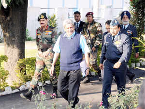 """Parrikar said there was """"no loose end"""" which could have resulted in the death of the soldiers. """"It was nature's show of strength and we can't help it."""""""