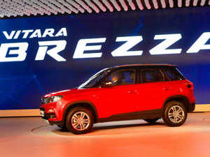 Maruti Suzuki India  is looking at its engineers to take lead in the development of at least three to four models, along the lines of its new compact SUV Vitara Brezza(seen in the picture).