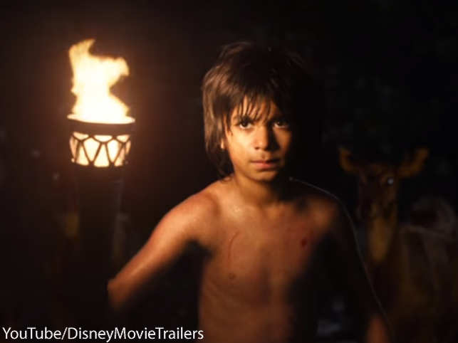 The Indian-American has hit the right cords as Mowgli in the Jon Favreau-directorial.