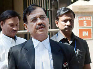 In pic:: Public prosecutor Ujjwal Nikam interacts with the media after David Headley deposed before a court through video link in the 26/11 case, in Mumbai.