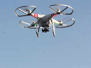 The company has approached the Ministry of Home Affairs and the civil aviation department to go ahead with the drone project.