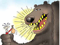 A 20 per cent fall in Sensex signifies the onset of a bear market. If the market stays around these levels for two months, the bear phase will get confirmed.