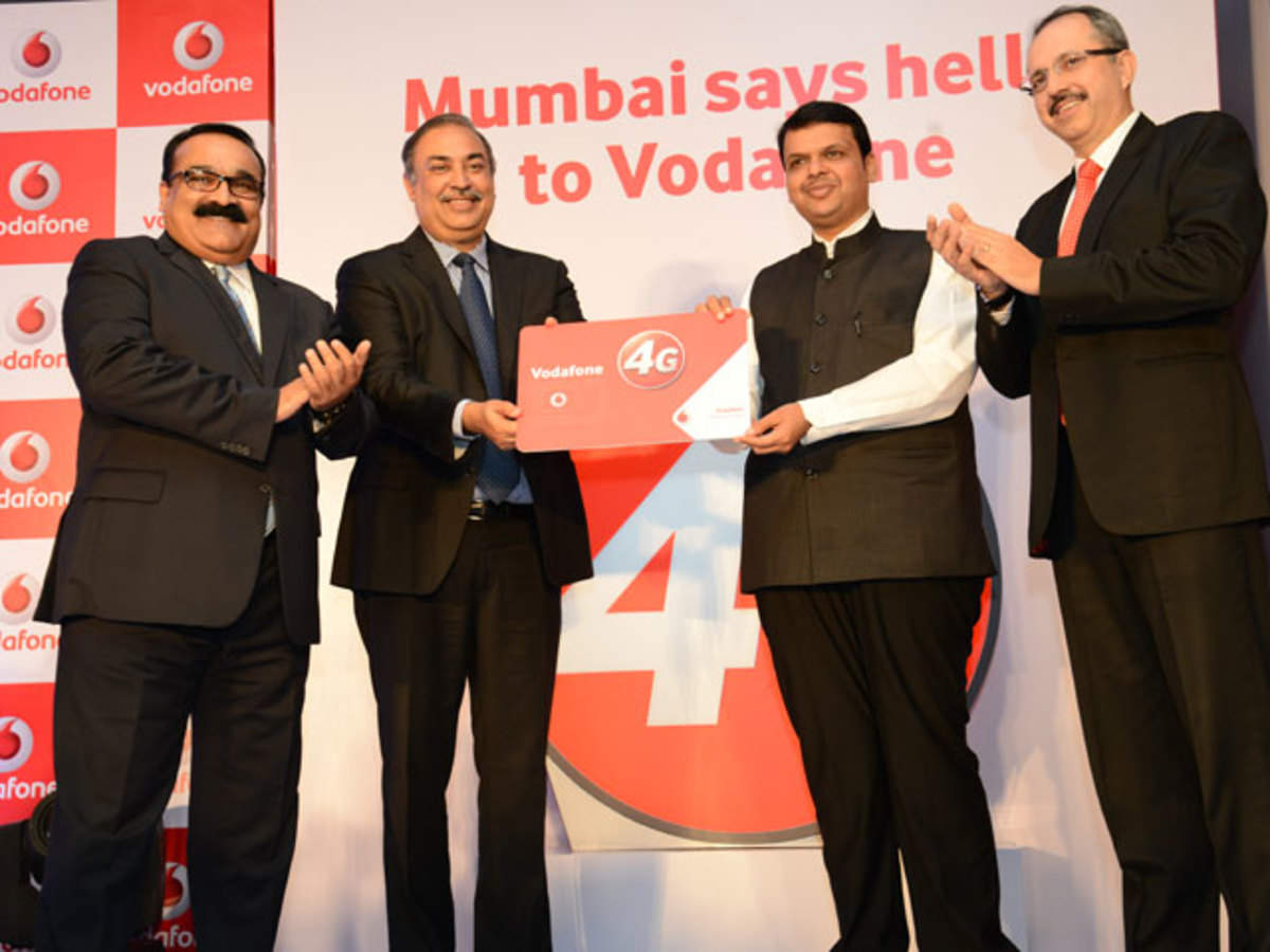 Vodafone India launches 4G service in Mumbai - The Economic