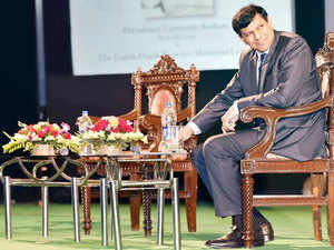"""Concerned about India being a country of """"high inflation"""", RBI Governor Raghuram Rajan today said it's a must to bring inflation down to keep the country's exchange rate competitive."""