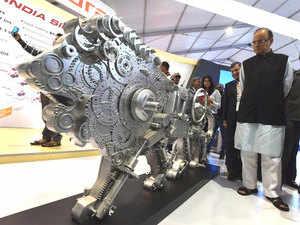 Finance Minister Arun Jaitley at Make in India week in Mumbai.