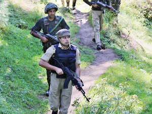 """""""An encounter has started in Kakapora area of Pulwama district after a cordon and search operation was launched in the area,"""" an army official said."""