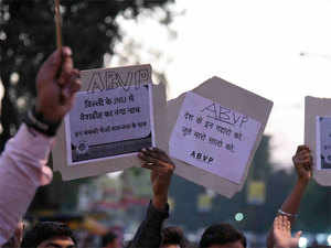 Bigger problem, university administrators say, arises when one version of 'anti-national' activity is backed by government.