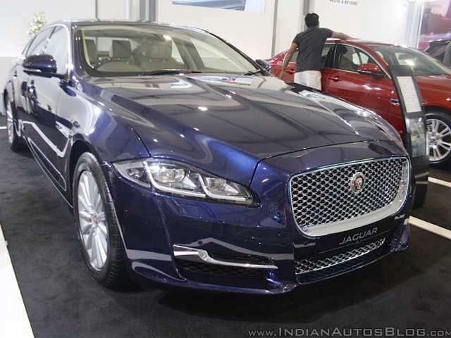 2016 Jaguar XJ Showcased At Make In India Event