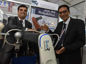 To be showcased for the first time at the Make in India week in Mumbai, Brabo has been developed in-house by a team of six engineers whose average age is 24 years, led by Anil Bhingurde.