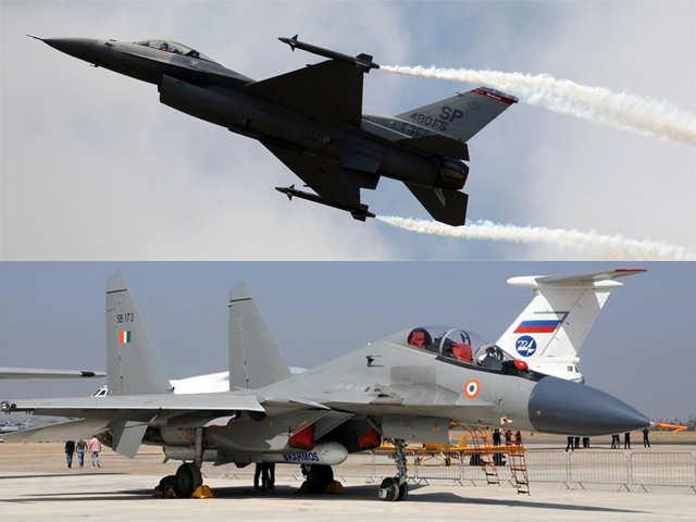 Comparison of top guns: US F-16 jets vs Sukhoi 30MKI
