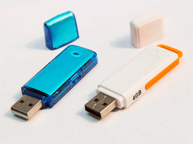 Apart from just storing data, flash drives can also be used as a 'key' to access multiple computers.