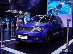 The Ignis will be positioned under the Maruti Suzuki Vitara Brezza, which is a Ford