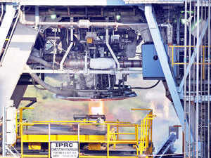"""In a major milestone, ISRO today successfully hot tested 'Cryo CE 20' Engine for a flight duration of 640 seconds, with the space agency Chairman A S Kirankumar describing the feat as a """"phenomenal achievement in the shortest time."""""""