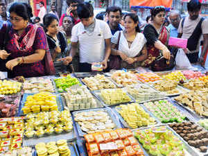 (Representative image) The four sweetmeats for which GI tags are being sought are 'Moa' of Jainagar, 'Sarpuria' of Krishnagar, and 'Sitabhog' and 'Mihidana' of Burdwan.