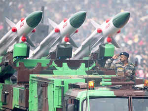 In 2015-16, Rs 77,406 crore of the Rs 93,675 crore allocated to the defence ministry was earmarked for acquisition of weapon systems for the three forces.