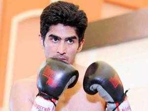 Vijender, who is three fights old in the pro circuit having won all of them via knockouts, will be gunning for either the WBO middleweight or the super-middleweight title.