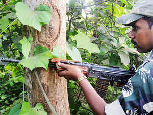 The gun battle took place for about 15 minutes between Valakapudi and Devulapadu areas.