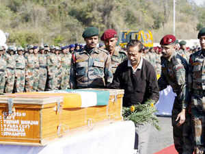 The 48-hour gunbattle between the militants and government forces at Pampore, 14 km from Srinagar, ended with the killing of three terrorists.
