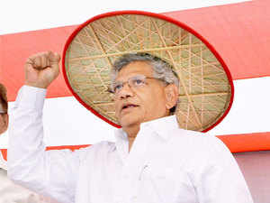 """CPI(M) general secretary Sitaram Yechury today claimed to have received threat calls and text messages for allegedly saying """"wrong"""" things about Goddess Durga in Rajya Sabha."""