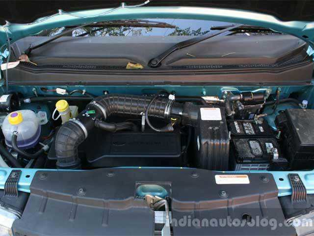 Engine - Mahindra KUV100 1 2 Diesel (D75): Review | The