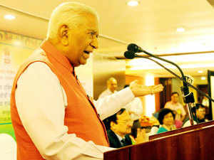 IT exports from Karnataka are expected to net Rs 2.20 lakh crore in 2015-16 and direct employment in the sector will be around 10 lakh as per Nasscom estimates, Governor Vajubhai Vala said.