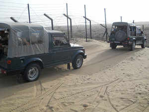 There have been several instances in recent past when terrorists from Pakistan breached the border and carried out terror attacks, including strike on Pathankot airbase.