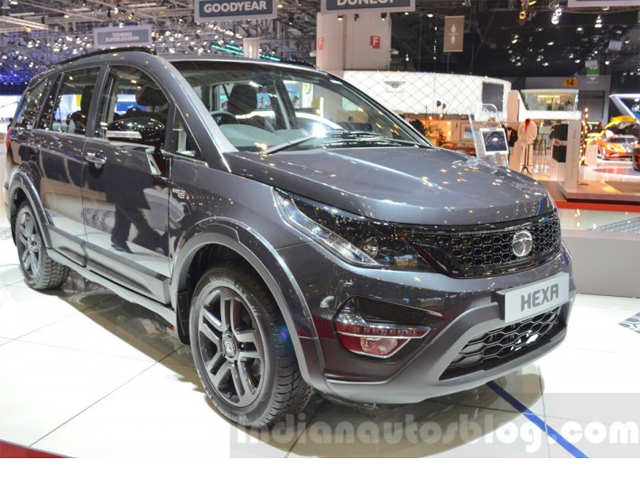 Tata Motors Displays Hexa Tuff At 2016 Geneva Motor Show Tata Hexa